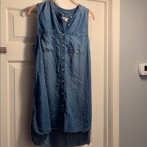 Jean dress/tunic
